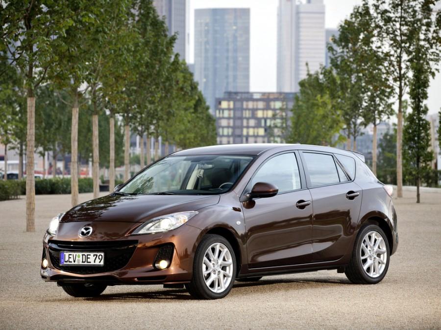 Mazda 3 хетчбэк, 2011–2013, BL [рестайлинг] - отзывы, фото и характеристики на Car.ru