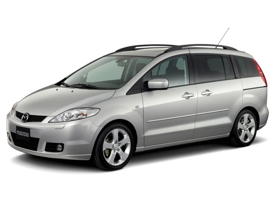 Mazda 5 минивэн, 2005–2008, 1 поколение - отзывы, фото и характеристики на Car.ru