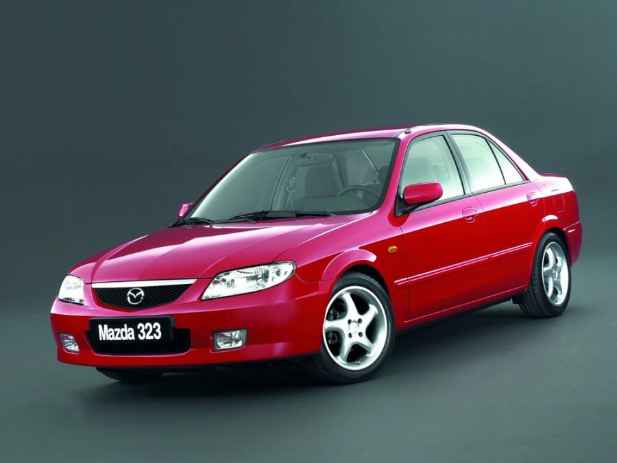 Mazda 323 седан, 2000–2003, BJ [рестайлинг] - отзывы, фото и характеристики на Car.ru