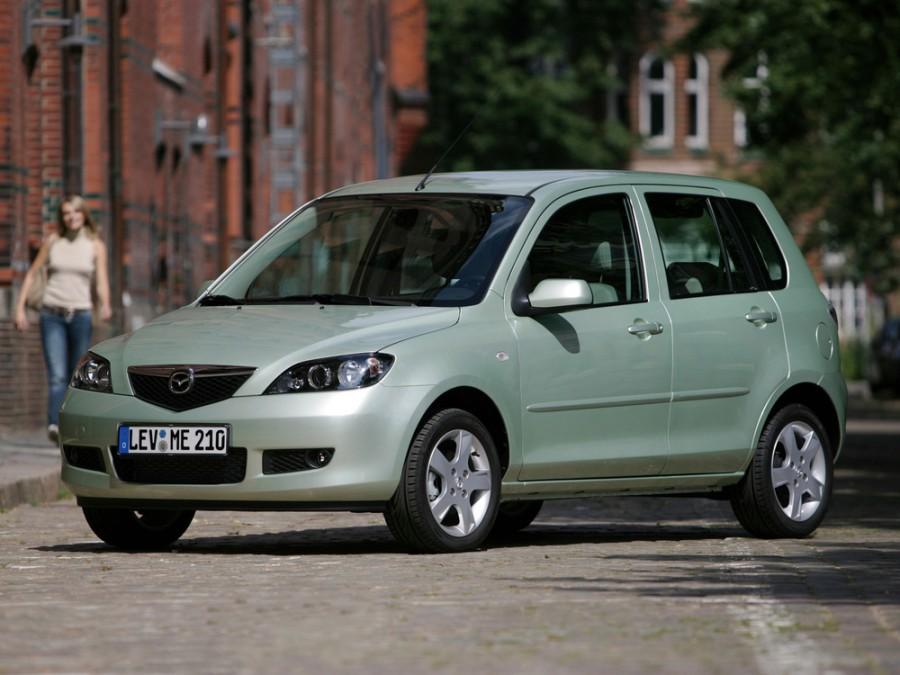 Mazda 2 хетчбэк, 2005–2007, 1 поколение [рестайлинг] - отзывы, фото и характеристики на Car.ru