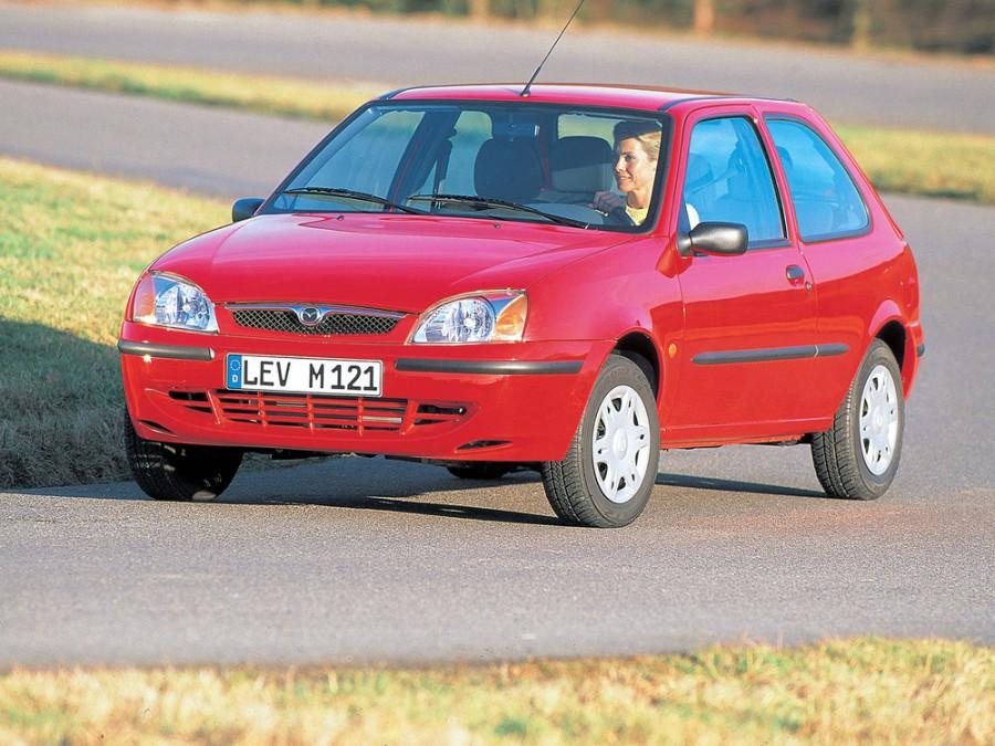 Mazda 121 хетчбэк, 1996–2000, 3 поколение - отзывы, фото и характеристики на Car.ru