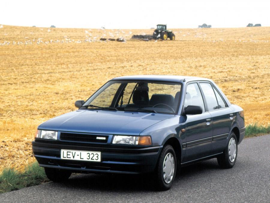 Mazda 323 седан, 1989–1995, BG - отзывы, фото и характеристики на Car.ru
