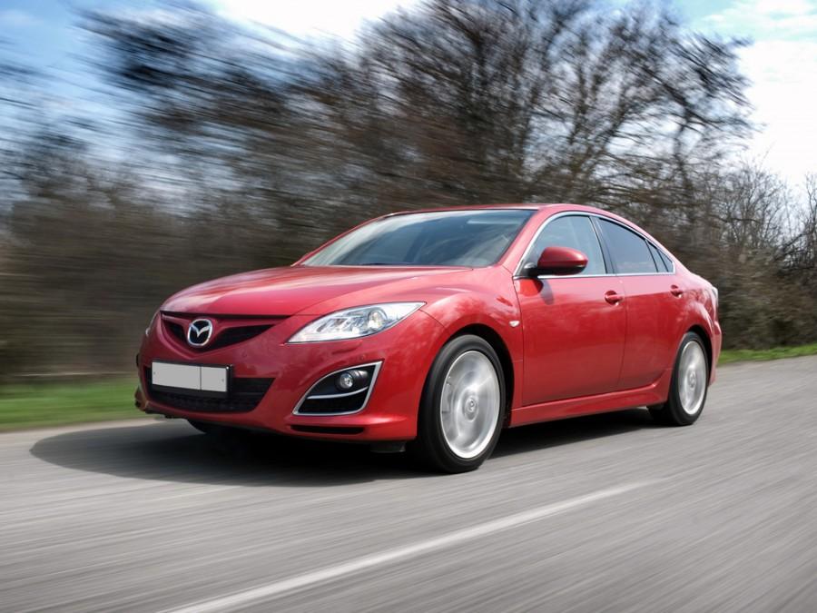Mazda 6 седан, 2010–2013, 2 поколение [рестайлинг] - отзывы, фото и характеристики на Car.ru
