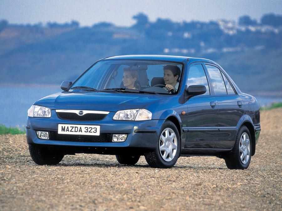 Mazda 323 седан, 1998–2000, BJ - отзывы, фото и характеристики на Car.ru