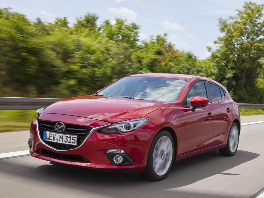 Mazda 3 хетчбэк, 2013–2016, BM - отзывы, фото и характеристики на Car.ru