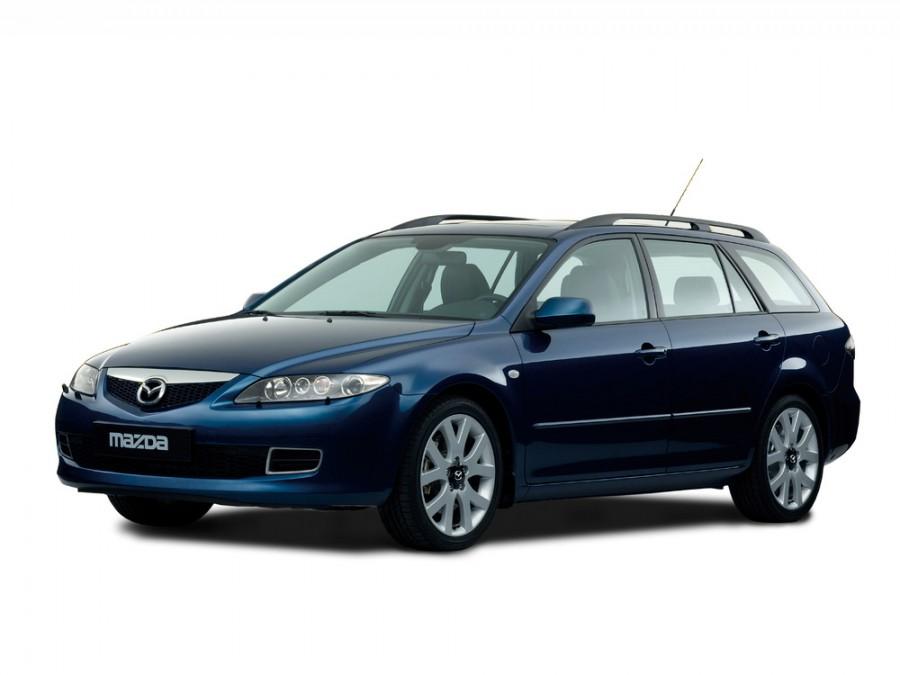Mazda 6 универсал, 2005–2007, 1 поколение [рестайлинг] - отзывы, фото и характеристики на Car.ru