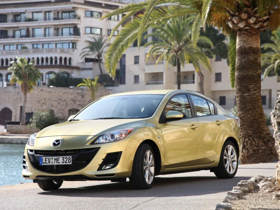 Mazda 3 седан, 2009–2013, BL - отзывы, фото и характеристики на Car.ru