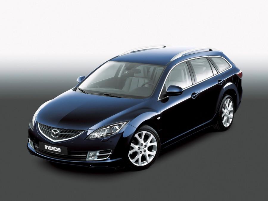 Mazda 6 универсал, 2007–2012, 2 поколение - отзывы, фото и характеристики на Car.ru