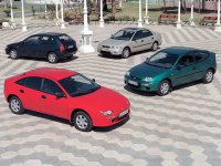 Mazda 323, BA [рестайлинг], Седан, 1996–2016