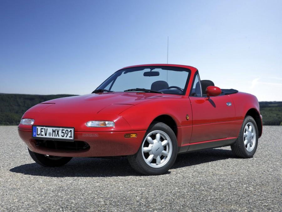 Mazda MX-5 родстер, 1990–1998, NA - отзывы, фото и характеристики на Car.ru