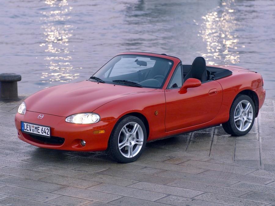 Mazda MX-5 родстер, 2000–2005, NB [рестайлинг] - отзывы, фото и характеристики на Car.ru