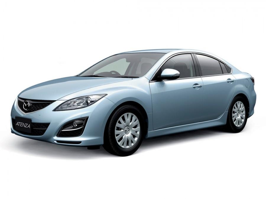 Mazda Atenza седан, 2010–2013, 2 поколение [рестайлинг] - отзывы, фото и характеристики на Car.ru