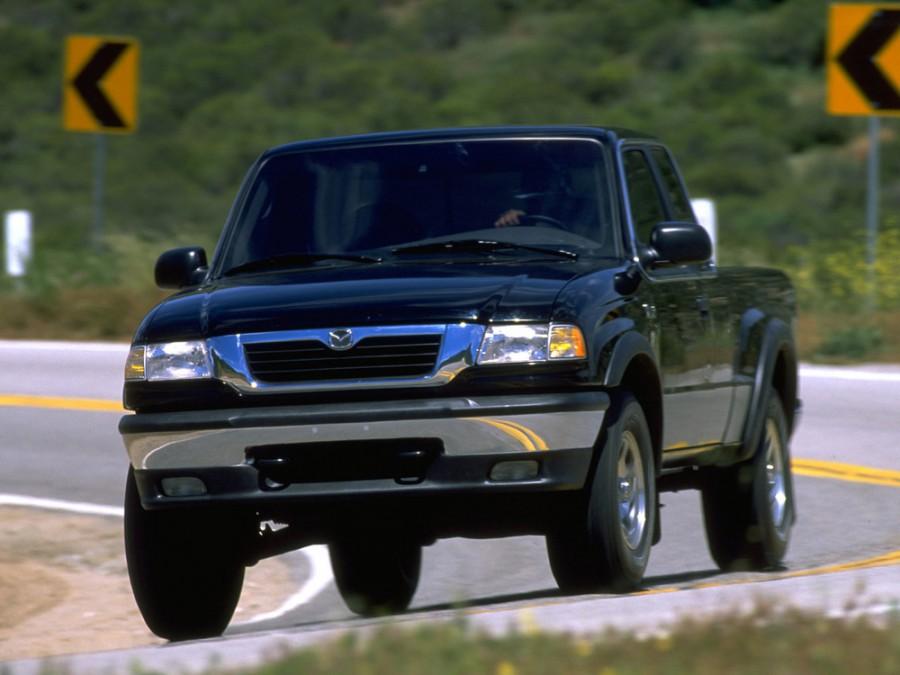 Mazda B-Series Cab Plus пикап 4-дв., 1998–2002, 5 поколение - отзывы, фото и характеристики на Car.ru