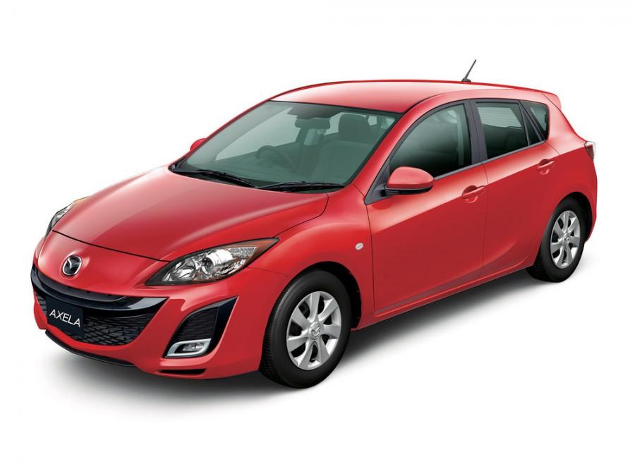 Mazda Axela хетчбэк, 2009–2012, 2 поколение - отзывы, фото и характеристики на Car.ru