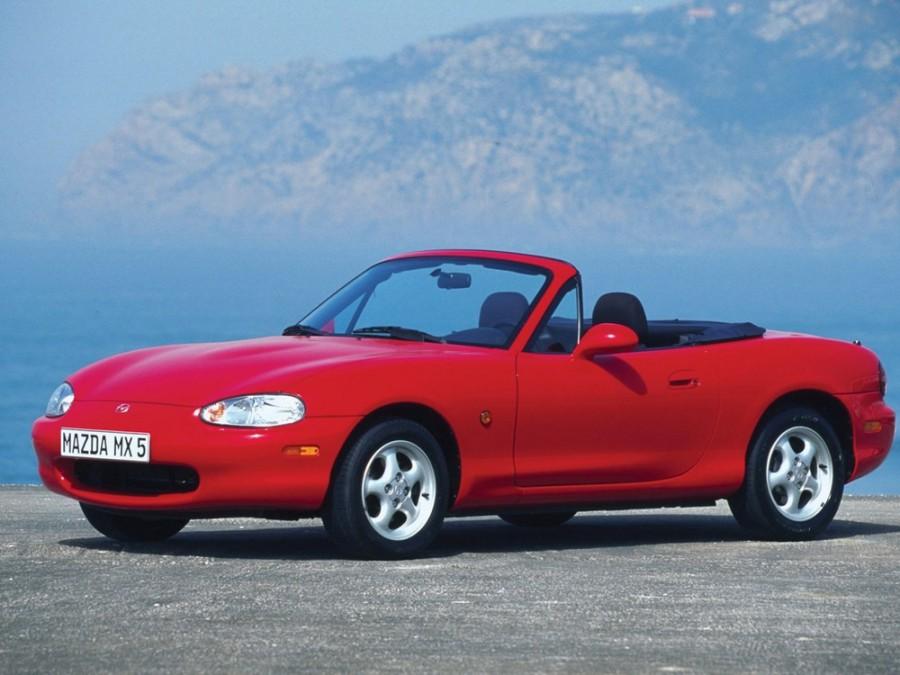 Mazda MX-5 родстер, 1998–2000, NB - отзывы, фото и характеристики на Car.ru