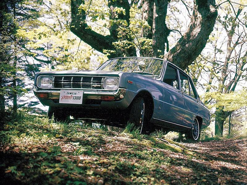 Mazda Familia Presto седан 4-дв., 2 поколение - отзывы, фото и характеристики на Car.ru
