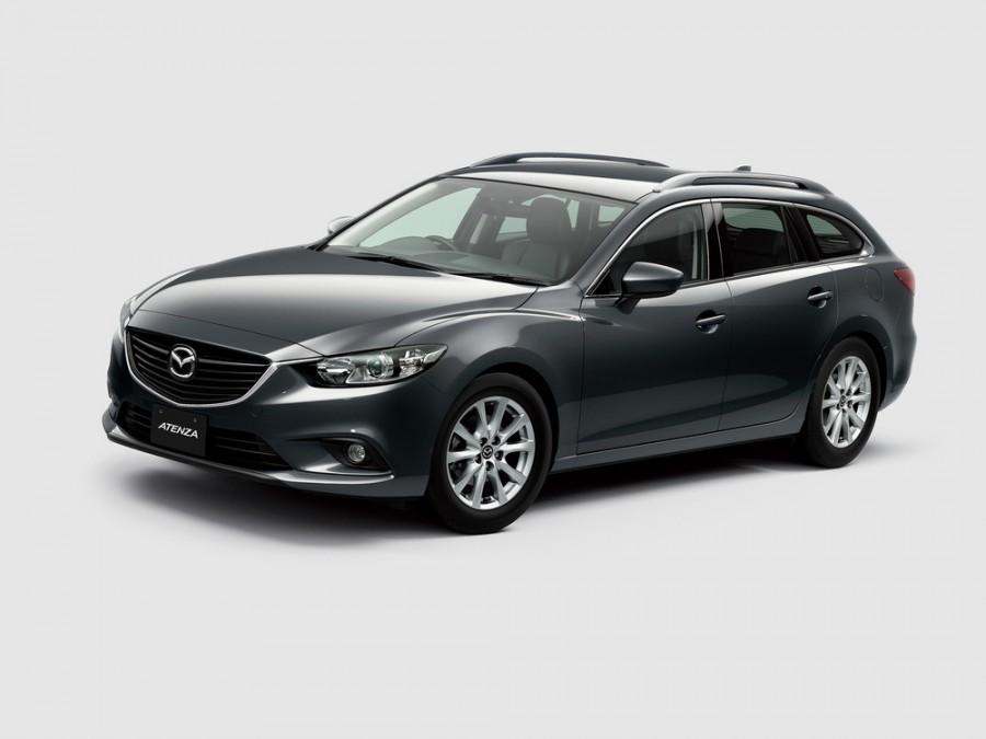Mazda Atenza универсал, 2012–2016, 3 поколение - отзывы, фото и характеристики на Car.ru