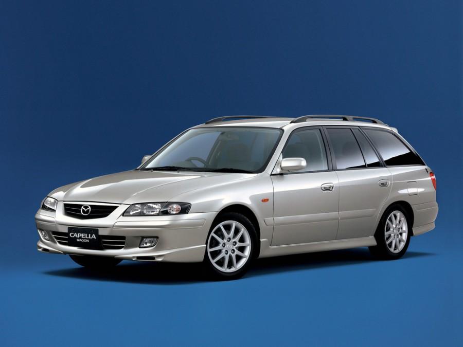 Mazda Capella универсал, 1997–2002, 7 поколение - отзывы, фото и характеристики на Car.ru