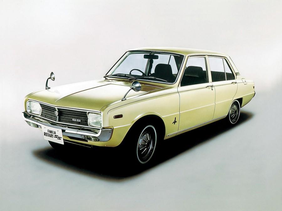 Mazda Familia Rotary седан 4-дв., 2 поколение - отзывы, фото и характеристики на Car.ru
