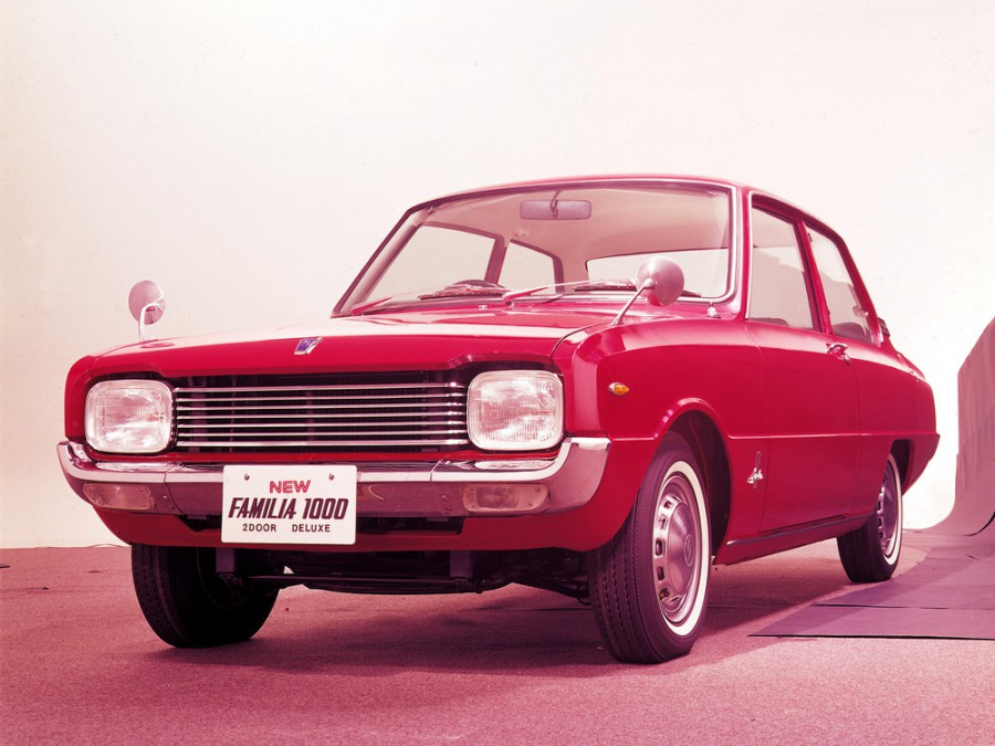 Mazda Familia седан 2-дв., 2 поколение - отзывы, фото и характеристики на Car.ru