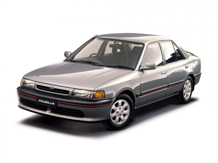 Mazda Familia седан, 1989–2003, 7 поколение - отзывы, фото и характеристики на Car.ru