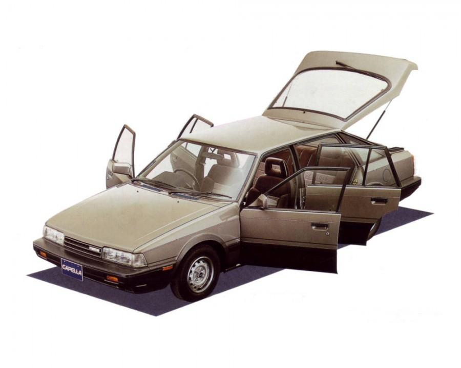 Mazda Capella хетчбэк, 4 поколение - отзывы, фото и характеристики на Car.ru