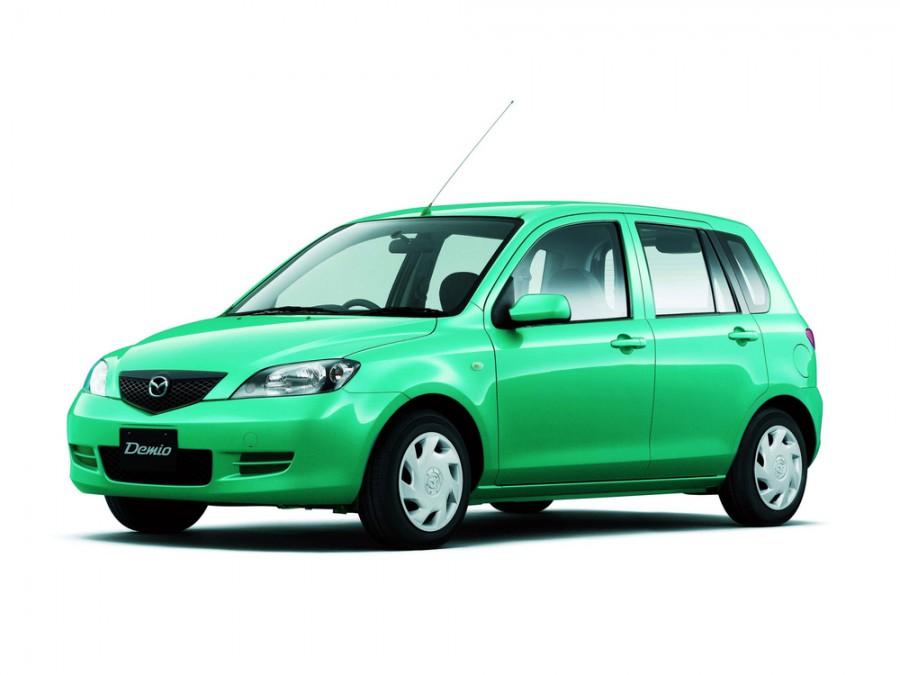 Mazda Demio хетчбэк, 2002–2005, 2 поколение - отзывы, фото и характеристики на Car.ru