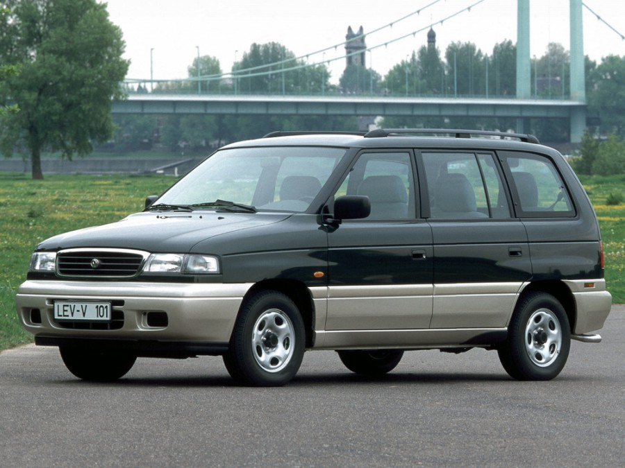 Mazda MPV минивэн, 1994–1999, 1 поколение [рестайлинг] - отзывы, фото и характеристики на Car.ru