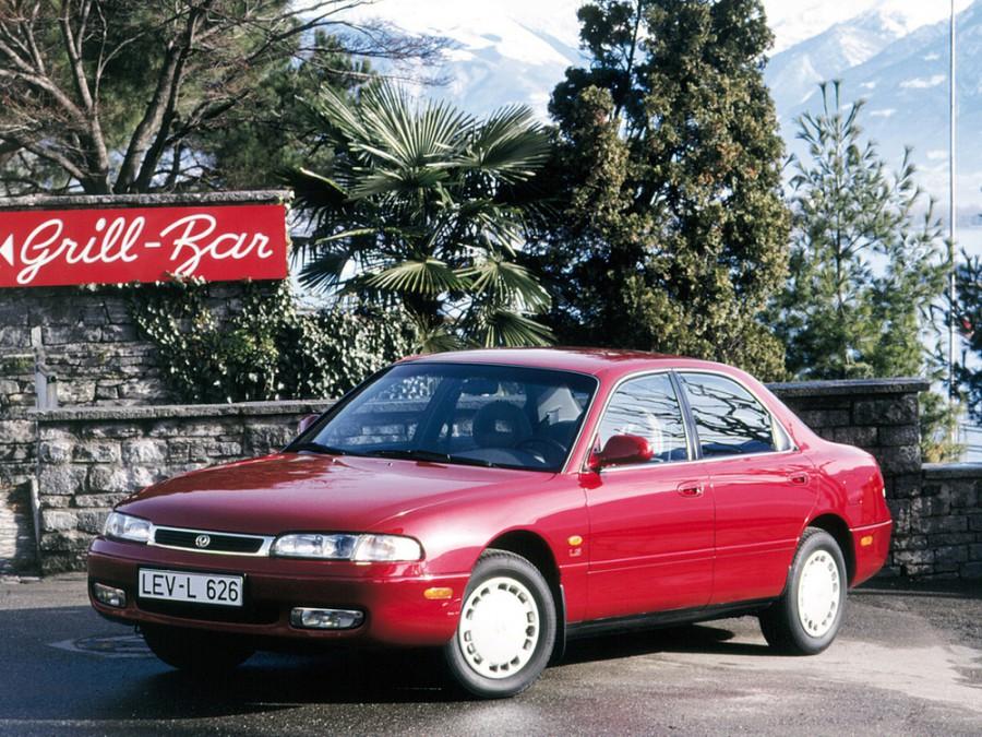 Mazda 626 седан, 1992–1997, GE - отзывы, фото и характеристики на Car.ru