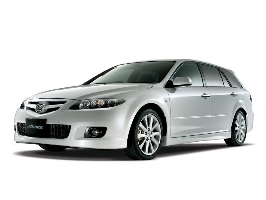 Mazda Atenza универсал, 2005–2007, 1 поколение [рестайлинг] - отзывы, фото и характеристики на Car.ru