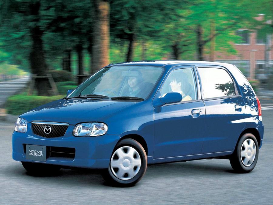 Mazda Carol хетчбэк, 1998–2016, 3 поколение - отзывы, фото и характеристики на Car.ru