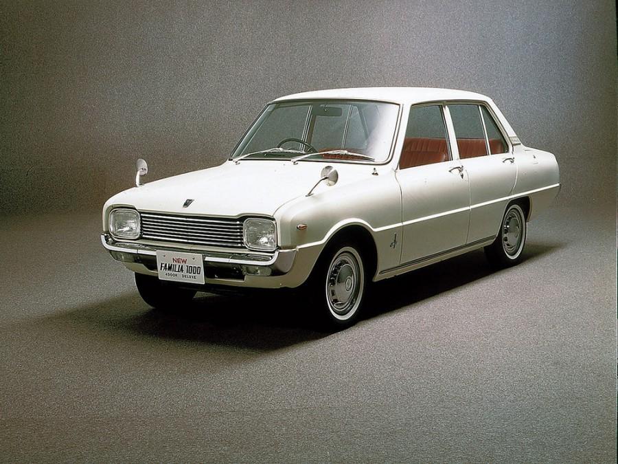 Mazda Familia седан 4-дв., 2 поколение - отзывы, фото и характеристики на Car.ru