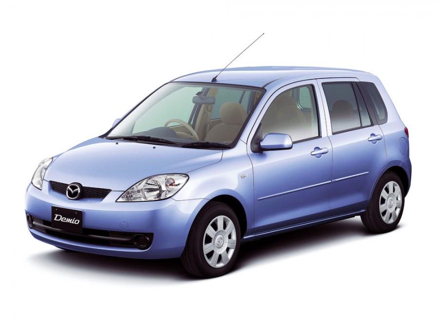 Mazda Demio хетчбэк, 2005–2007, 2 поколение [рестайлинг] - отзывы, фото и характеристики на Car.ru