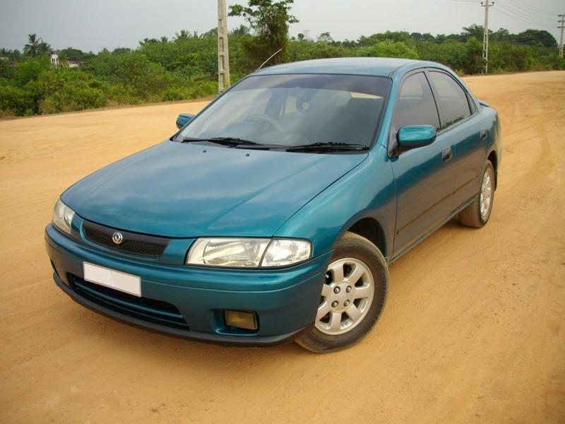 Mazda Familia седан, 1996–1998, 8 поколение [рестайлинг] - отзывы, фото и характеристики на Car.ru