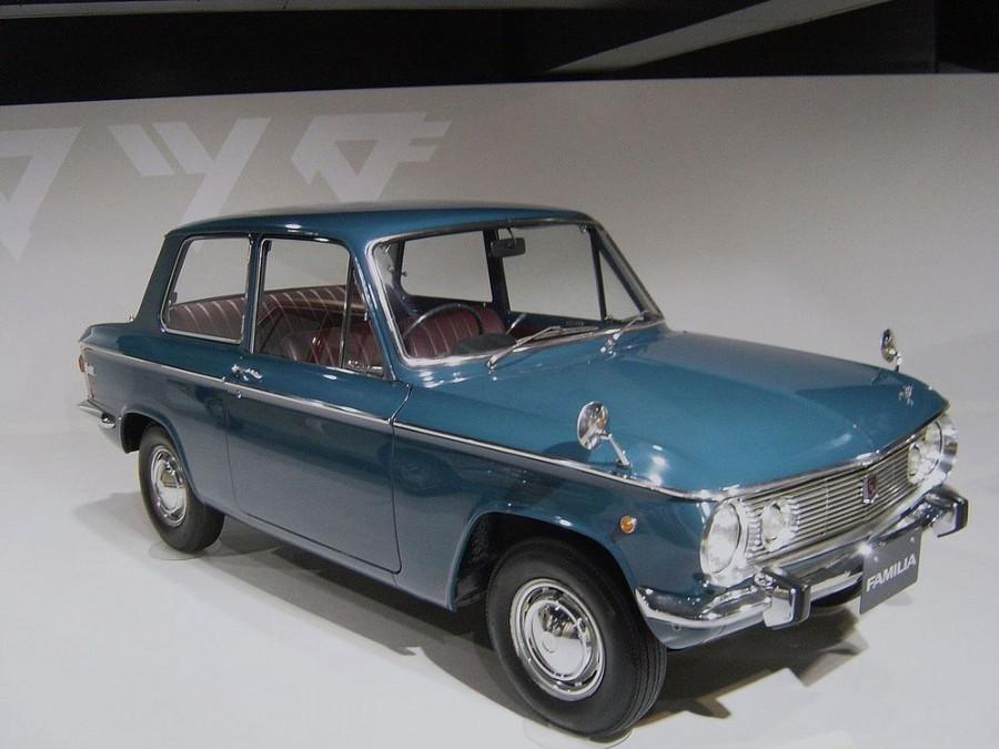Mazda Familia седан 2-дв., 1 поколение - отзывы, фото и характеристики на Car.ru