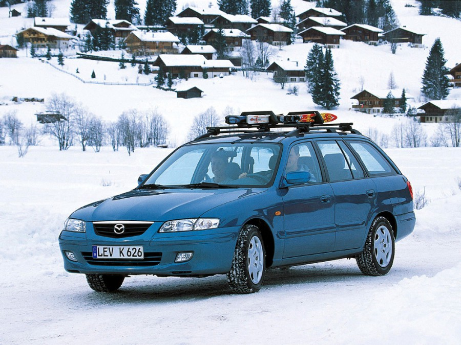 Mazda 626 универсал, 1999–2002, GF [рестайлинг] - отзывы, фото и характеристики на Car.ru