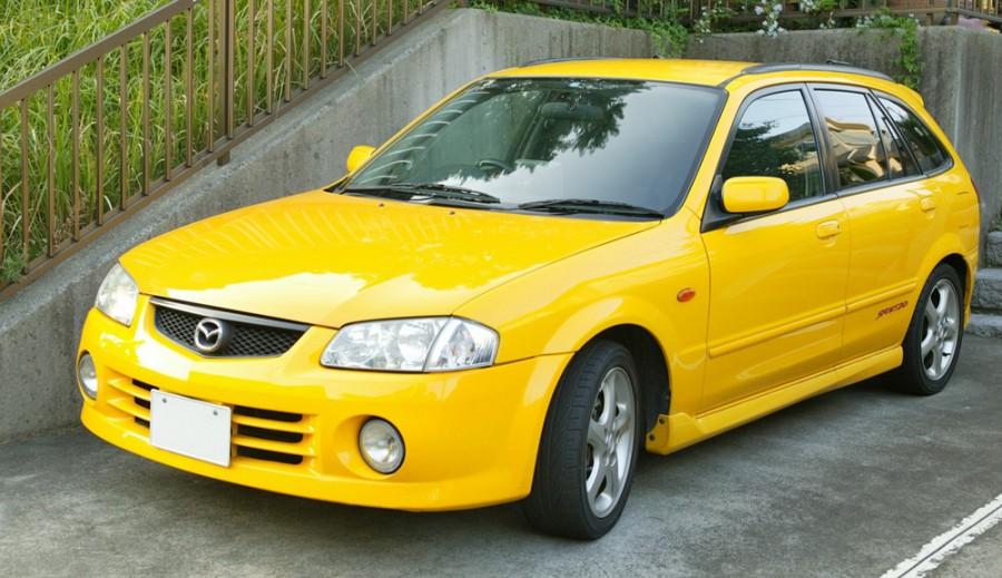 Mazda Familia хетчбэк, 1998–2000, 9 поколение - отзывы, фото и характеристики на Car.ru