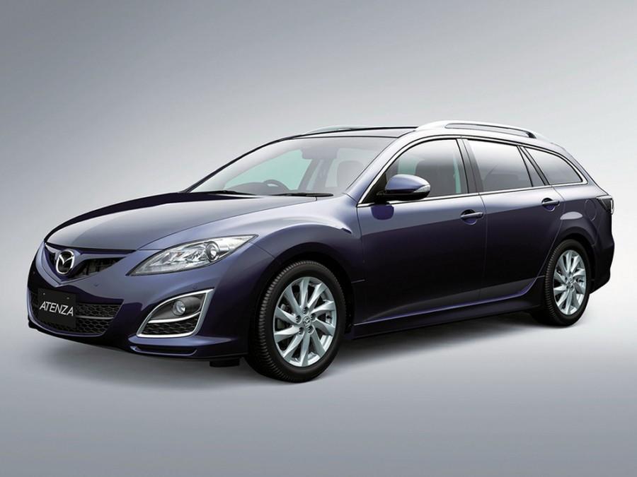 Mazda Atenza универсал, 2010–2013, 2 поколение [рестайлинг] - отзывы, фото и характеристики на Car.ru