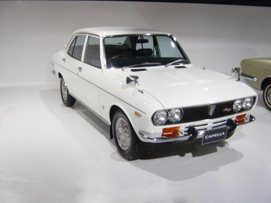 Mazda Capella седан, 1 поколение - отзывы, фото и характеристики на Car.ru