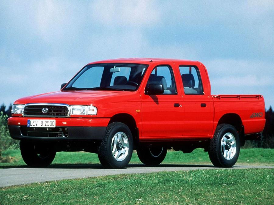 Mazda B-Series Double Cab пикап 4-дв., 1998–2002, 5 поколение - отзывы, фото и характеристики на Car.ru