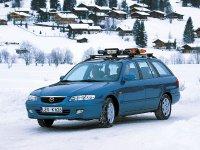 Mazda 626, GF [рестайлинг], Универсал, 1999–2002