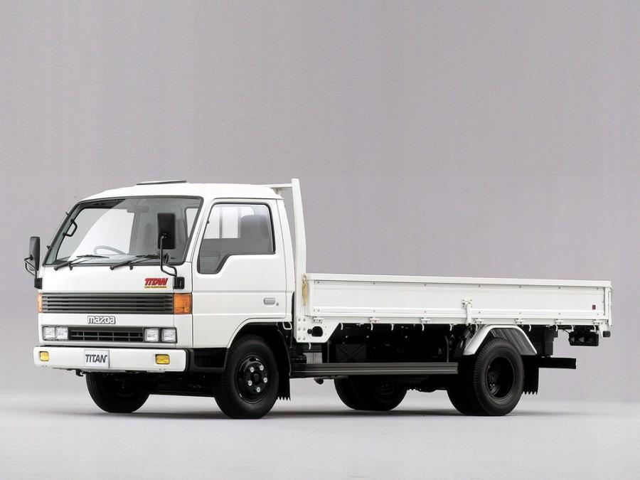 Mazda Titan шасси 2-дв., 1989–1992, 3 поколение - отзывы, фото и характеристики на Car.ru