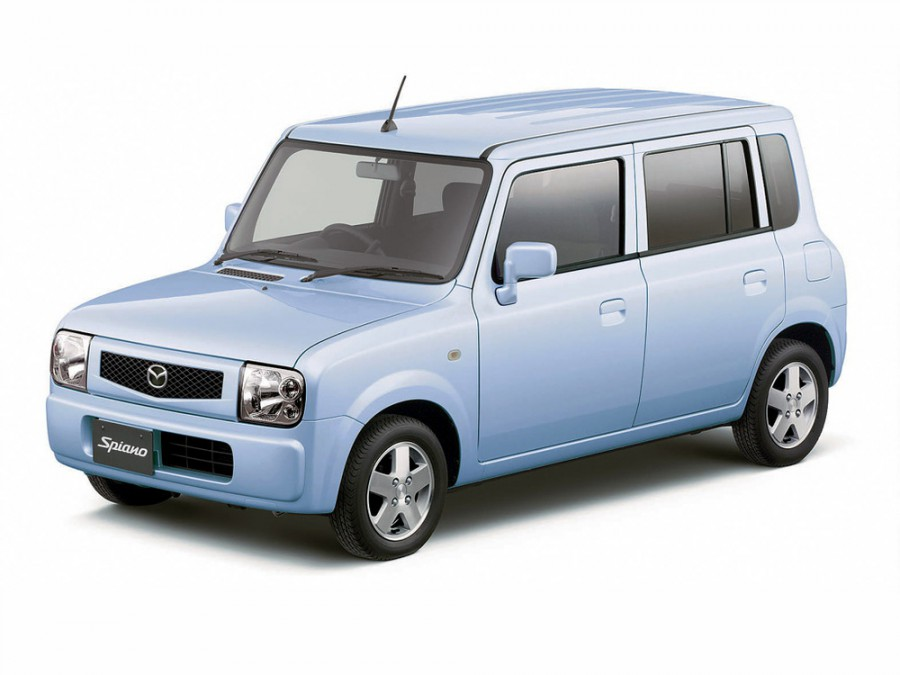 Mazda Spiano хетчбэк, 2002–2016, 1 поколение - отзывы, фото и характеристики на Car.ru