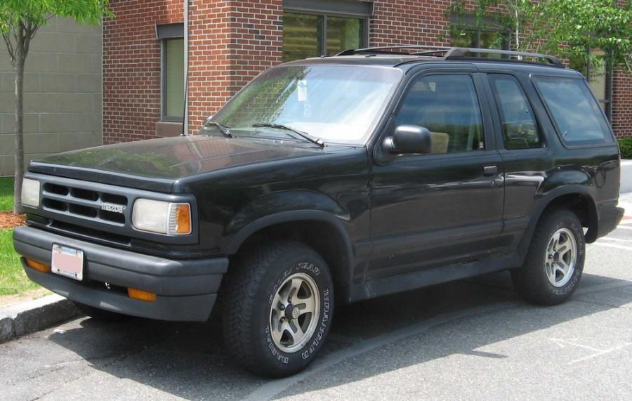 Mazda Navajo внедорожник, 1991–1995, 1 поколение - отзывы, фото и характеристики на Car.ru