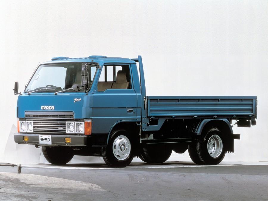 Mazda Titan шасси 2-дв., 1980–1984, 2 поколение - отзывы, фото и характеристики на Car.ru