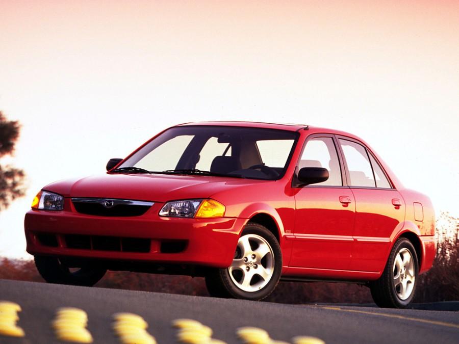 Mazda Protege седан, 1998–2000, BJ - отзывы, фото и характеристики на Car.ru