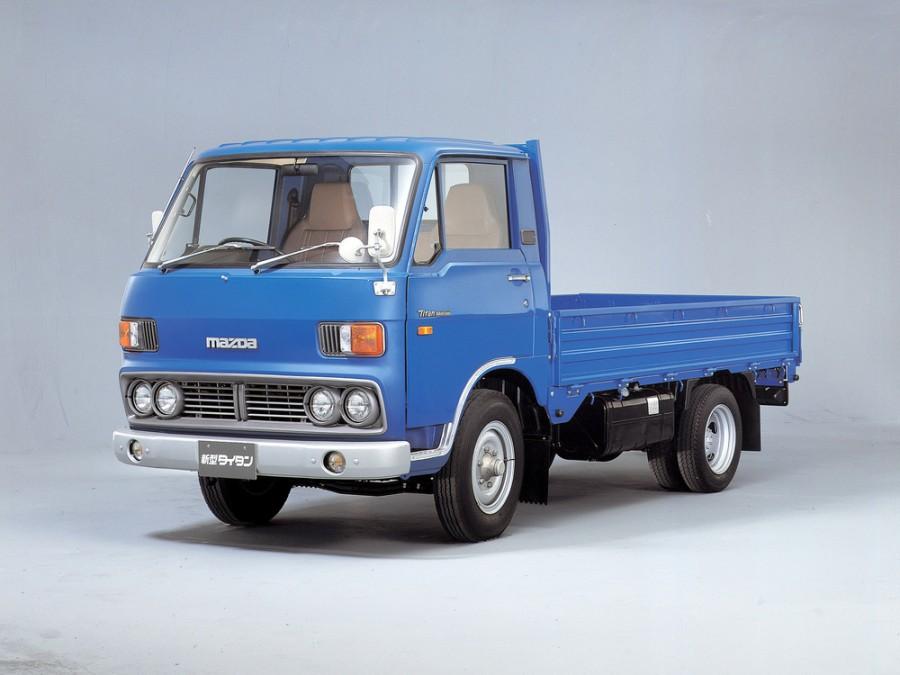 Mazda Titan шасси 2-дв., 1977–1980, 1 поколение [рестайлинг] - отзывы, фото и характеристики на Car.ru