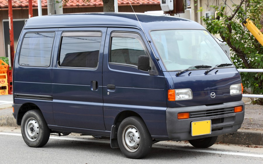 Mazda Scrum минивэн, 1995–2000, 1 поколение - отзывы, фото и характеристики на Car.ru