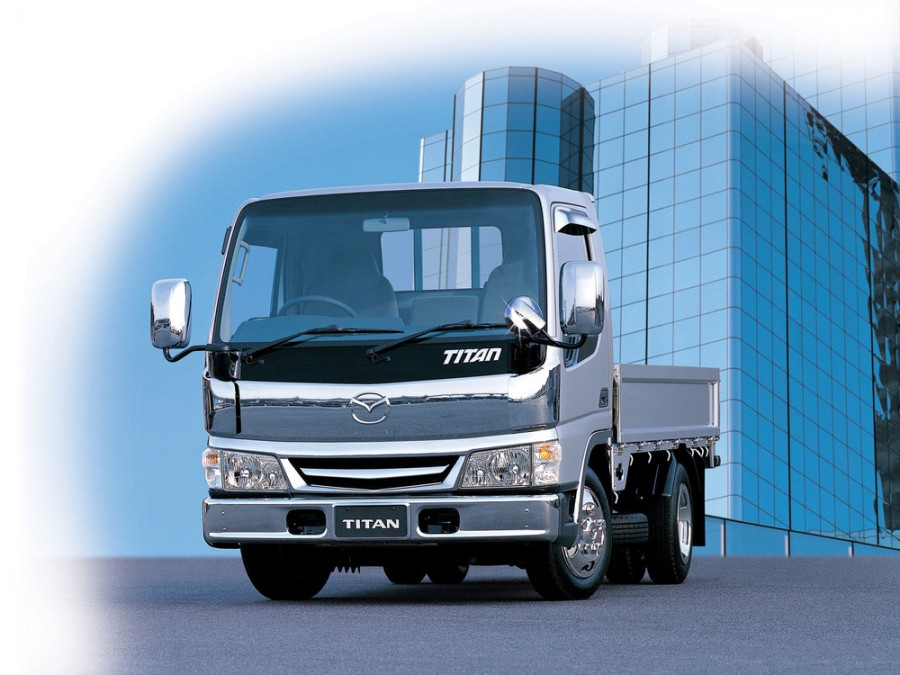 Mazda Titan шасси, 2000–2010, 4 поколение - отзывы, фото и характеристики на Car.ru
