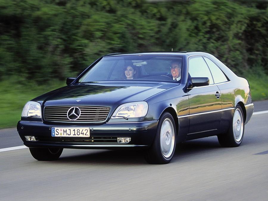 Mercedes CL-Class купе, 1996–1998, С140 - отзывы, фото и характеристики на Car.ru